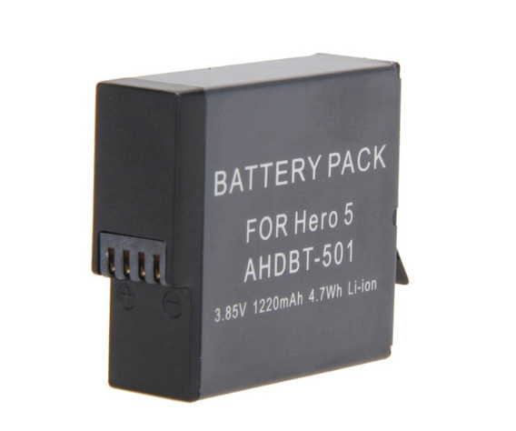 Bateria Extra Recarregável Para Gopro 5 6 Black Ahdbt-501