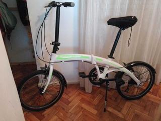 Bicicleta Raleigh Plegable.