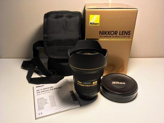 Lente Nikon Af-s Nikkor 14-24 Mm F/2.8g Ed