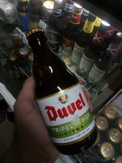 Cerveza Duvel Triple Hop Citra Importada Bélgica / Caballito