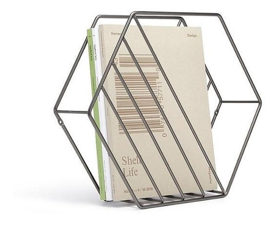 Revisteiro Zina Umbra Design Porta Revista De Chão Ou Parede