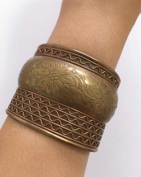Bracelete Indiano Metal Cobre