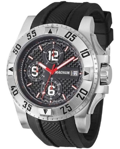 Relógio Masculino Magnum Militar Grande Cronografo Ma34361t