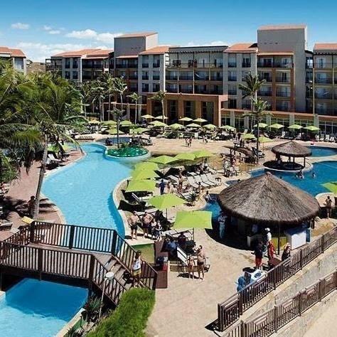 Apto Em Resort, Vista Para O Mar, No Complexo Do Beach Park