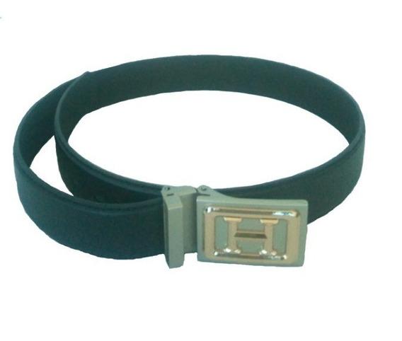 144 Cinturones Negros De Piel Para Caballero, Se Factura