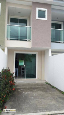 Casa Residencial Para Locação, Parque Duque De Caxias, Macaé. - Ca0357