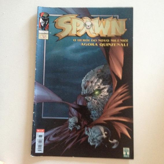 Revista Spawn N65 O Herói Do Novo Milênio! Agora Quinzenal .