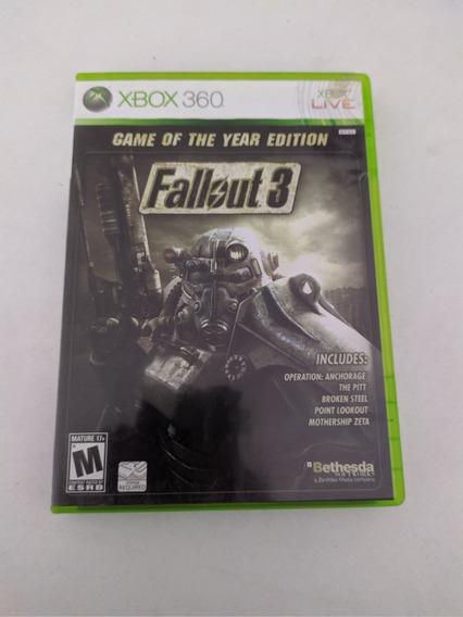 Jogo Fallout 3 Mídia Física Xbox 360