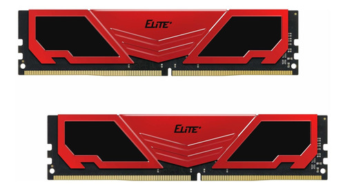 Memoria Ram 16gb Teamgroup Elite Plus Ddr4 Kit (2x8gb) 2400mhz Pc4-19200 Cl16 Unbuffered Non-ecc 1.2v U-dimm 288 Pin Pc