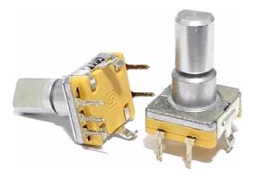 3 Unids Potenciômetro Encoder Hbuster Eixo Longo Com Chave