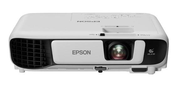 Projetor Epson Powerlite S41+ V11h842024 Branco Bivolt