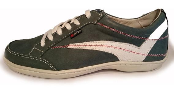 Zapatillas De Cuero Febo Superconfort Cuero 100%