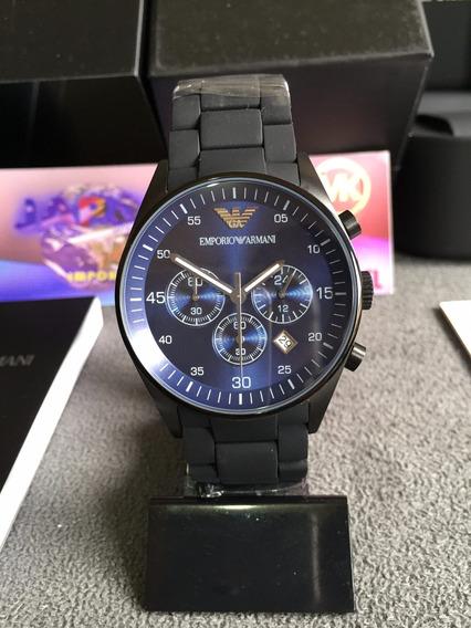 Relógio Emporio Armani Ar5921 Black Original 12x S/ Juros
