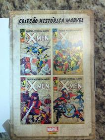 Coleção Histórica Marvel - Os-xmen - 1 Ao 4 + Box