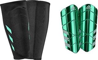 Espinilleras adidas Performance Ghost Pro, Verde Claro, Medi