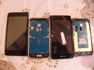 Lote De 4 Celulares Samsung J1 Todas As Placas Funcionando