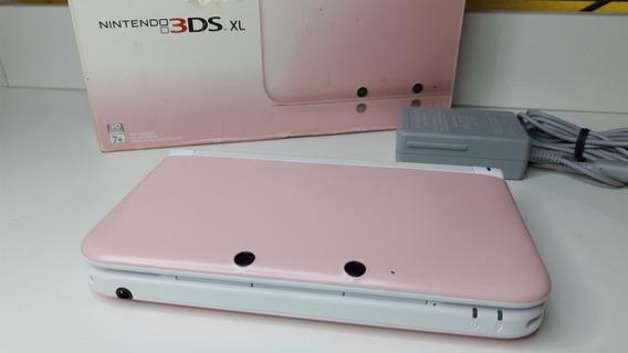Nintendo 3ds Xl Rosa/branco