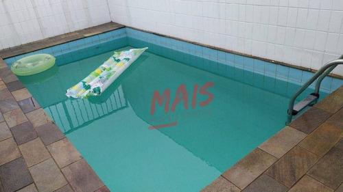 Imagem 1 de 30 de Cobertura Ampla! Próxima Ao Shopping Praiamar, Vista Livre, 4 Dormitórios, 2 Suítes, 2 Vagas - Co0108