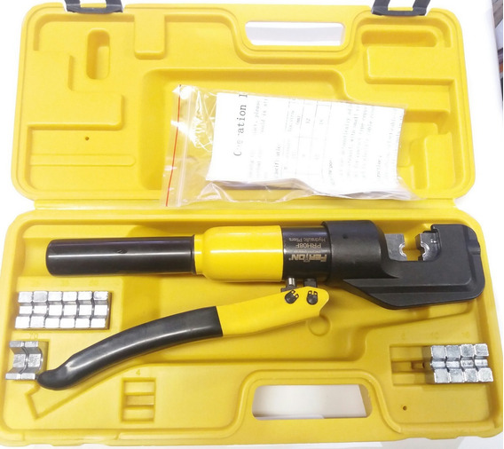 Alicate Aprieta Terminales O Prensa Hidraulica 8 Ton.