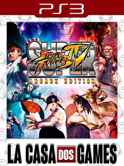 Super Street Fighter Iv Arcade Edition - Psn Ps3 - Envio Já
