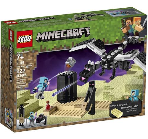 Imagem 1 de 5 de Lego Minecraft A Batalha Final 21151