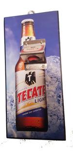 Cerveza Tecate Hielo Cartel Destapador