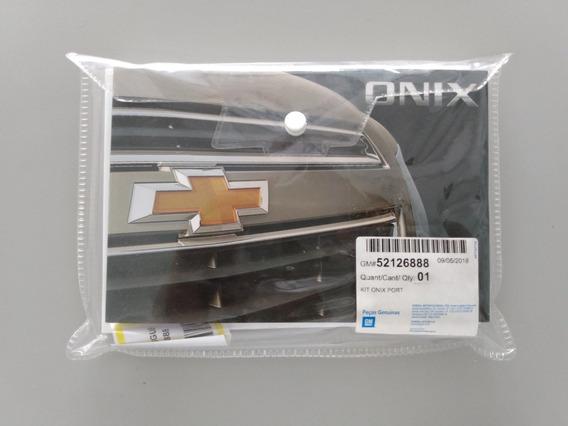 Jogo Manuias Proprietário Onix Gm 52126888