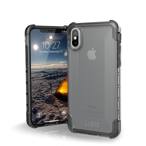 Funda Uag Para iPhone X/xs 5.8 Plyo Ice