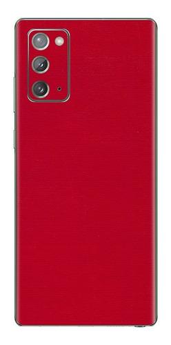 Imagem 1 de 1 de Película Skin Galaxy Note 20 (6.7) Kingshield 3d Couro-verm