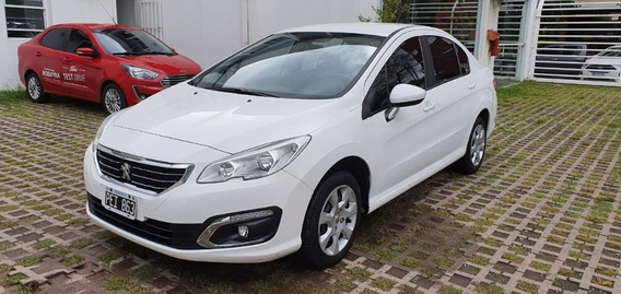 Peugeot 408 Active 1.6 2015 Blanco Sedan Al Dia