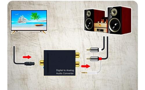 Convertidor De Audio Digital A Análogo 2.1
