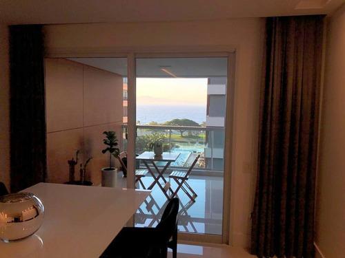 Imagem 1 de 18 de Apartamento Com Vista Para A Beira Mar, Mobiliado Com 3 Suítes. - Ap5689
