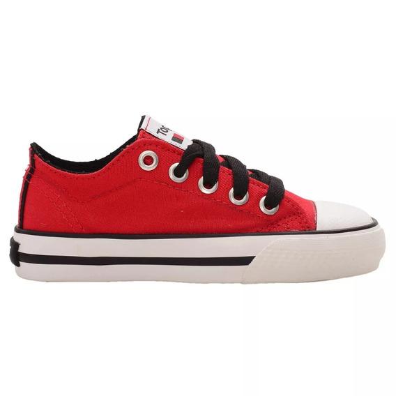 Zapatillas Topper Rail Kids Rojo