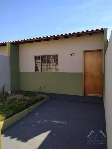Imagem 1 de 23 de Casa Com 2 Dormitórios À Venda, 62 M² Por R$ 165.000,00 - Parque Residencial Liberdade - Londrina/pr - Ca0619