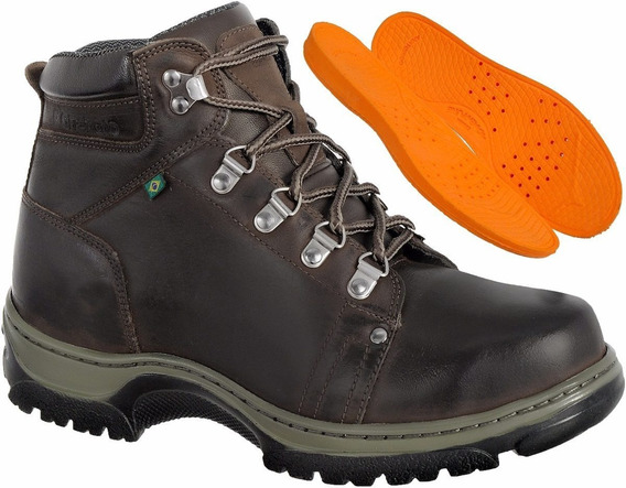 Bota Adventure Off Road Couro Legítimo Cano Alto 5010