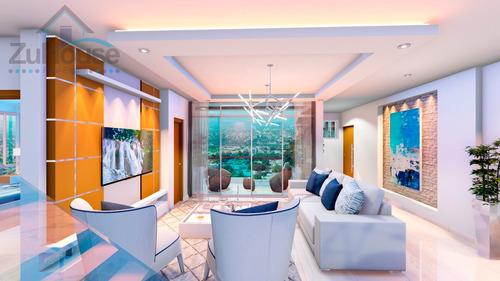 Imagen 1 de 10 de Apartamento En Plano En Modernas Torres En Santiago Wpa114 B