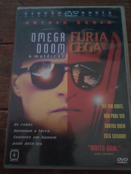 Dvd Omega Doon E Fúria Cega Raríssimo