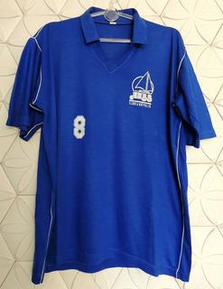 Aabb De Florianópolis Santa Catarina 1985 Nº 8 Gg, Sem Defeito, Usada Em Jogo Nsl, Camisa Em Algodão, Original E Oficial