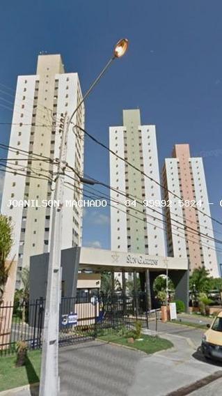 Apartamento Para Venda Em Natal, Pitimbu/satélite - Condomínio Sun Garden, 2 Dormitórios, 1 Suíte, 2 Banheiros, 2 Vagas - Ap1173-sun Gardens