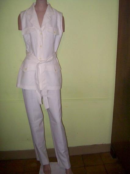 Conjunto Pantalon / Chaqueta Tipo Cazadora T.m Aprox