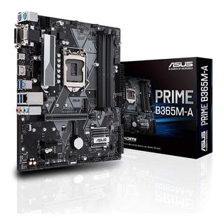Motherboard Asus Prime B365m A Intel 1151 8va 9na Ddr4 Nvme