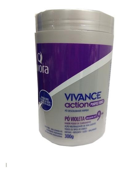 Avora Vivance Action Pó Descolorante Purple Force 300g