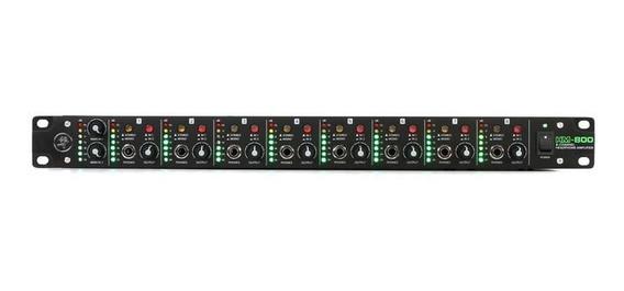 Amplificador De Fone De Ouvido Mackie Hm 800 8 Canal Hm-80