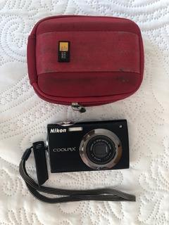 Camara Nikon S4000 Coolpix Sin Cargador Para Piezas