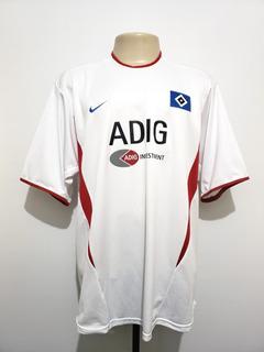 Camisa Oficial Hamburgo Alemanha 2003 Home Nike Tam Ggg Xxl
