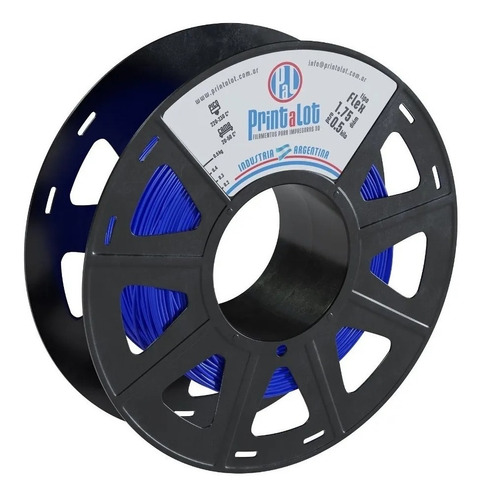 Filamento Impresora 3d Printalot | Flex 500g | Sólidos 3d