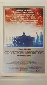 Cartazete Original Contatos Imediatos Terceiro Grau 1980