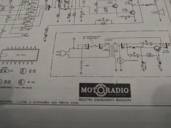 Esquema Eletrico Diagrama Radio Motoradio Acr-m33