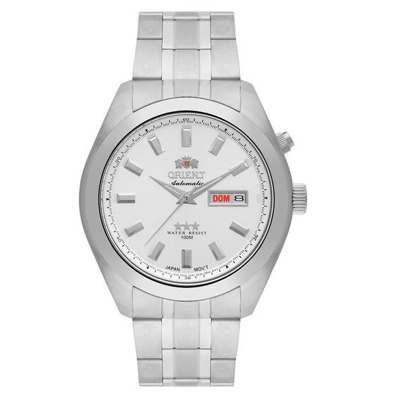 Relógio Orient Masculino 3 Estrelas Automático 469ss075 S1sx