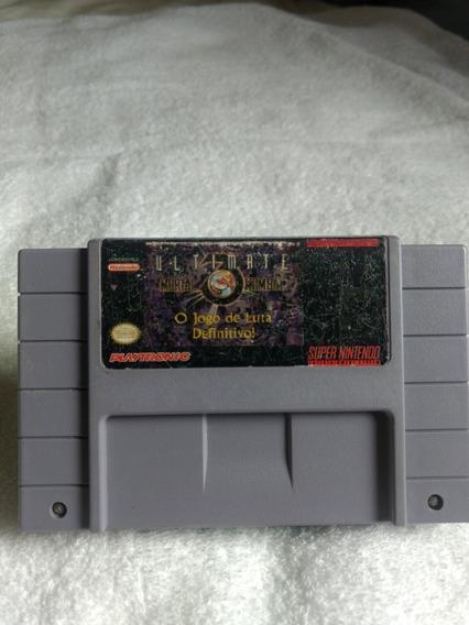 Ultimate Mortal Kombat 3 Original Snes